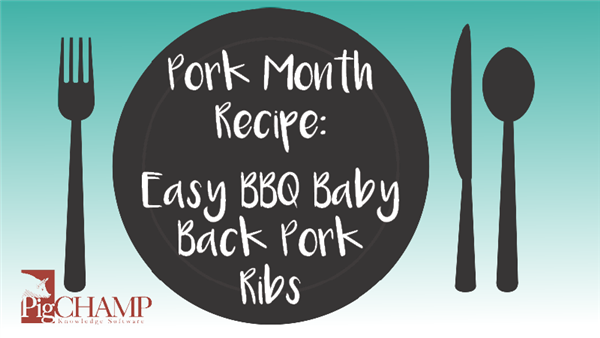Pork Month Recipe: Easy BBQ Baby Back Pork Ribs