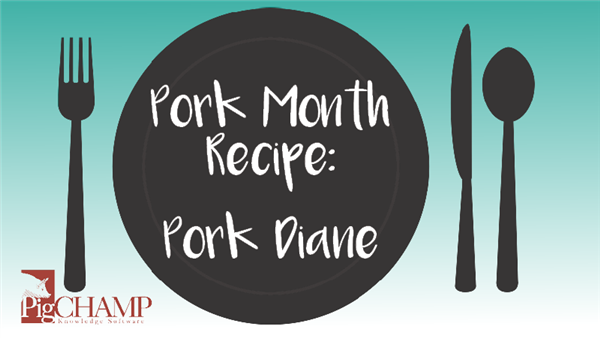 Pork Month Recipe: Pork Diane