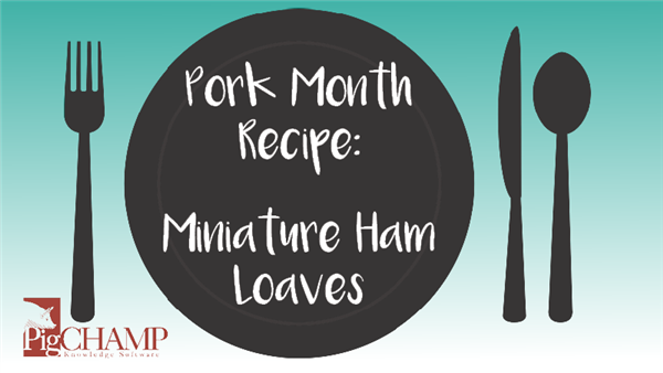 Pork Month Recipe: Mini Ham Loaves