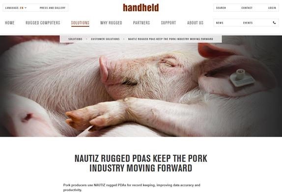 Handheld Group - PigCHAMP Feature