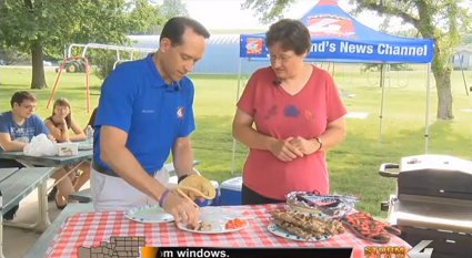 Grillin' with News 4